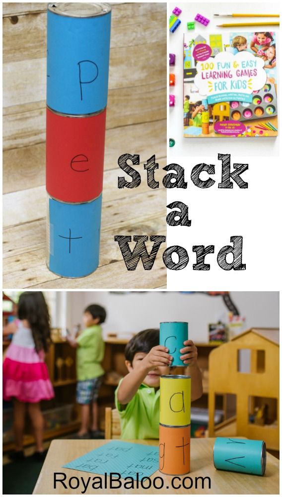 Stack A Word - learn to read activity