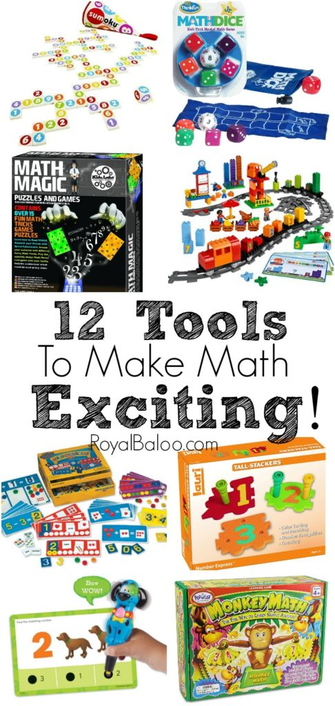 12 Tools to Make Math Exciting
