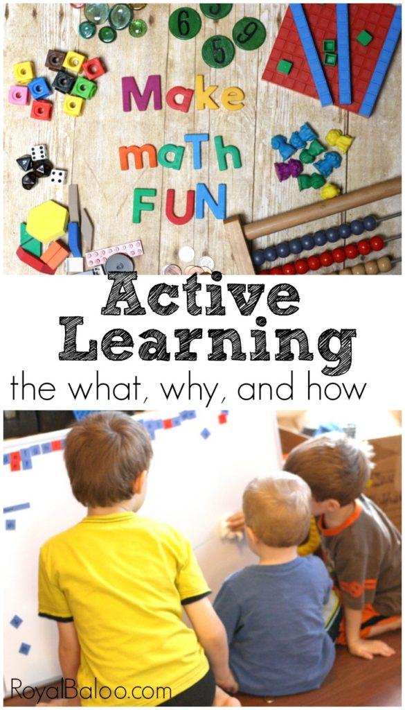 Active Learning: Using student-directed learning, problem-based learning, situated learning, unschooling and other methods to make learning fun and effective.