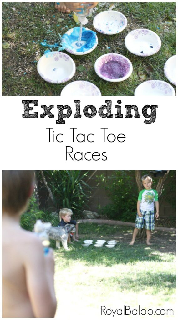 Exploding Tic Tac Toe Races for cooperative play.