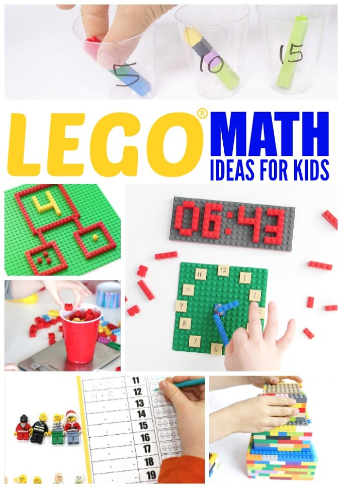 Lego Math Ideas for Kids