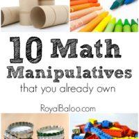MathmanipulativesYouAlreadyOwn