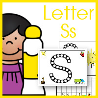Entertaining Dot Marker ABC Printables for Letter Ss