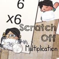 Scratch Off Fun Multiplication Practice
