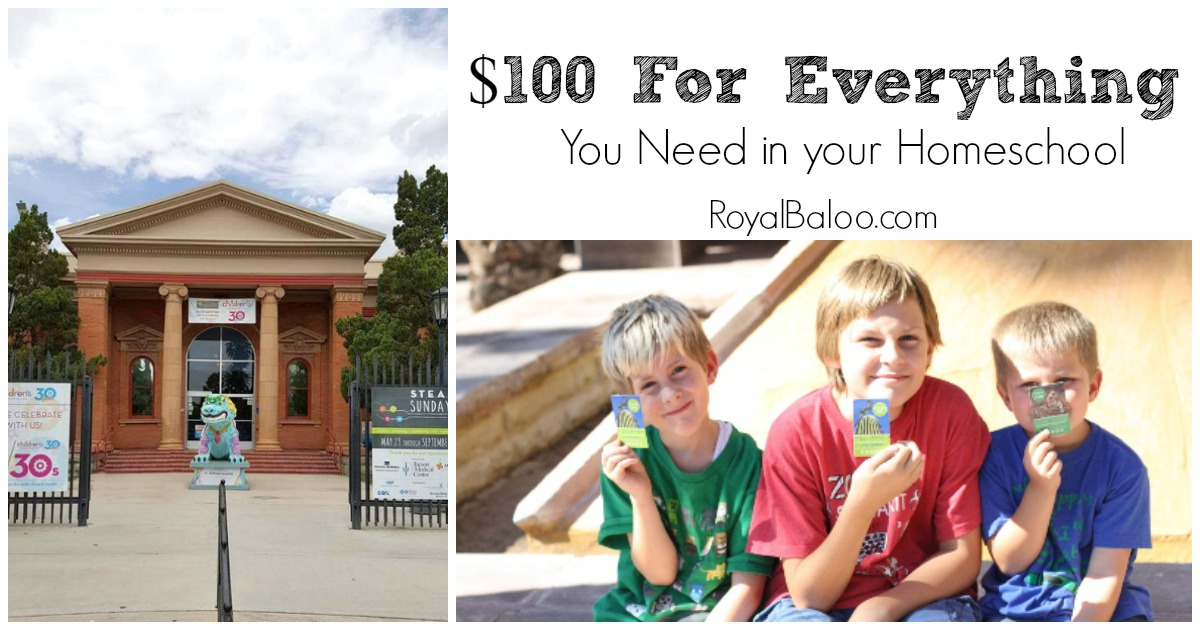 How to Homeschool with $100