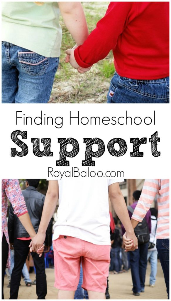 The Key to Finding a Homeschool Support Network or Group.  Don't make it harder than it has to be - find your homeschooling tribe!