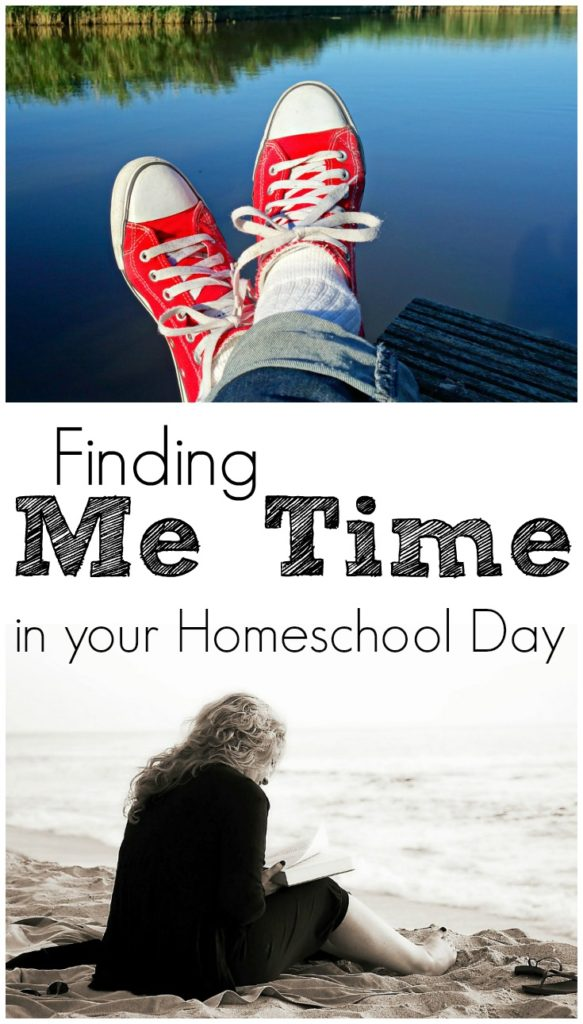 How to find Me Time in your Homeschool Day