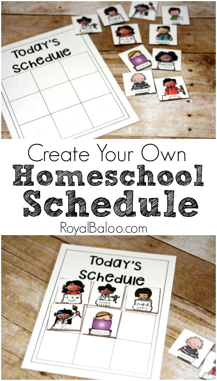 Create Your Own Homeschool Schedule