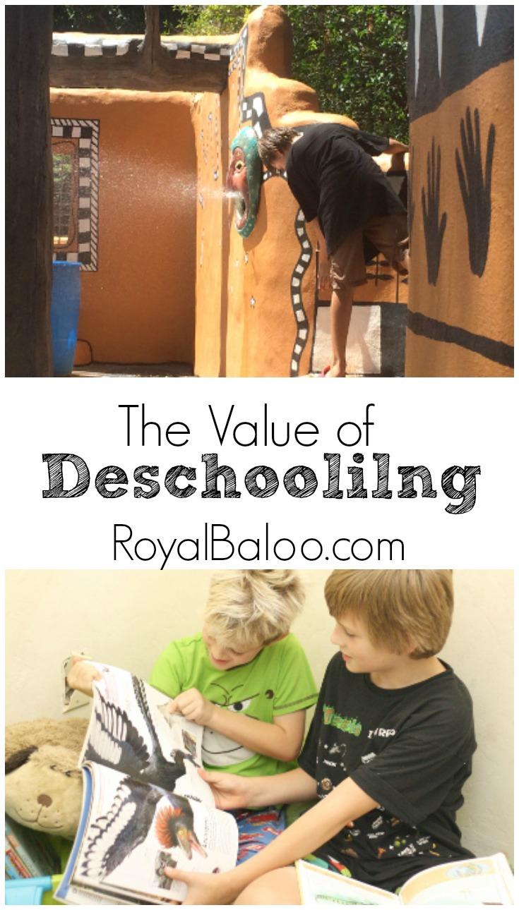The Value Behind Deschooling