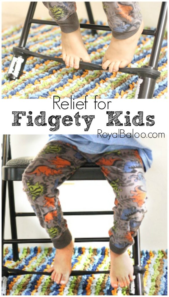 Do you have fidgety kids? This very simple Bouncy Band can change all that. Helps kids who are fidgety, need to move or stand, or kids that are just distracted.