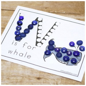 Learn Ww with Dot Marker Printables!