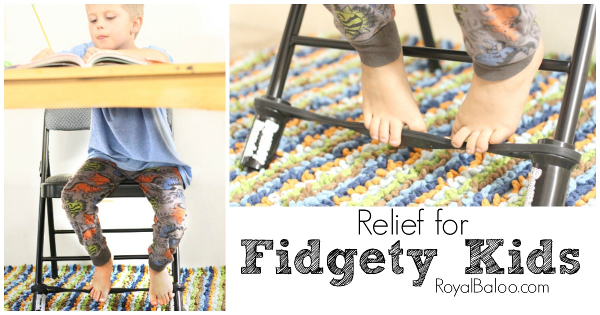 Relief for Fidgety Kids – Bouncy Bands Review