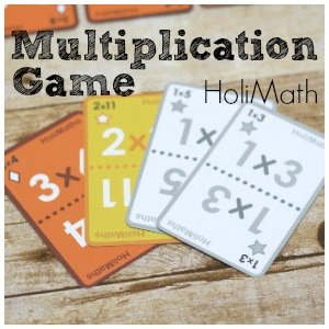 Multiplication Game of Strategy and Fun: HoliMaths