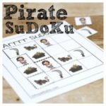 Pirate SuDoKu – Pirate Fun with Free Printables
