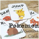Pokemon Movement Cards – Get the Wiggles Out