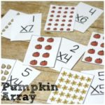 Pumpkin Array Printable for Multiplication Practice