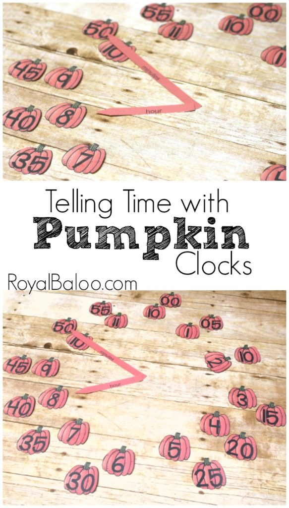 Make telling time practice fun with these engaging pumpkin time telling clocks!  Easy to print and set up and fun to play with.