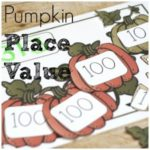 Pumpkin Place Value Free Printable for Math