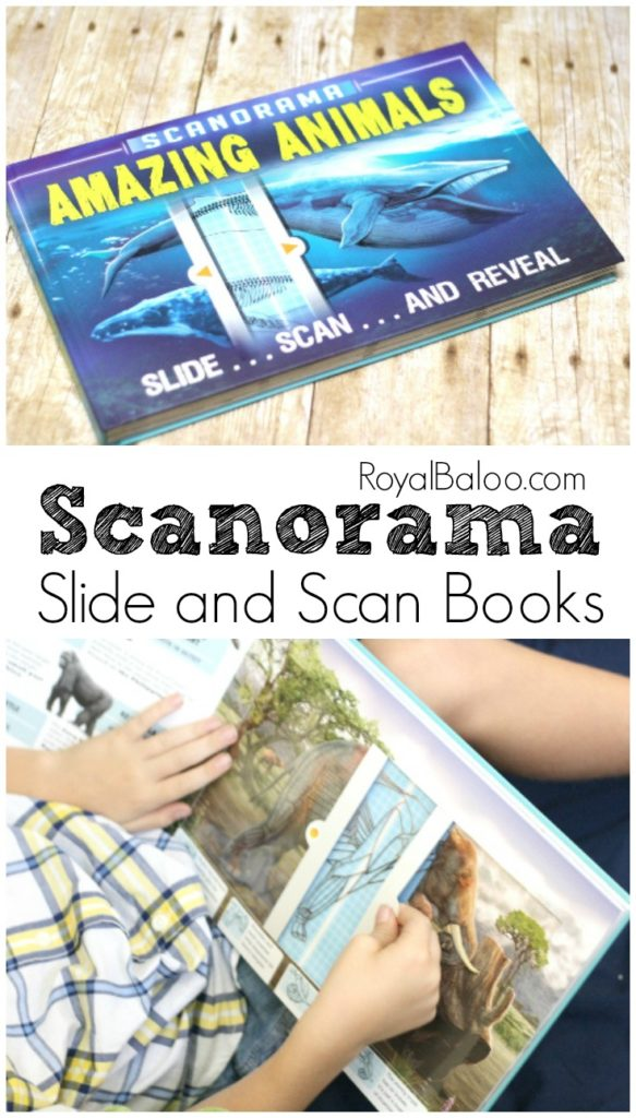 Scanorama: Amazing Animals. Interactive Books for children chock full of great information for homeschoolers!