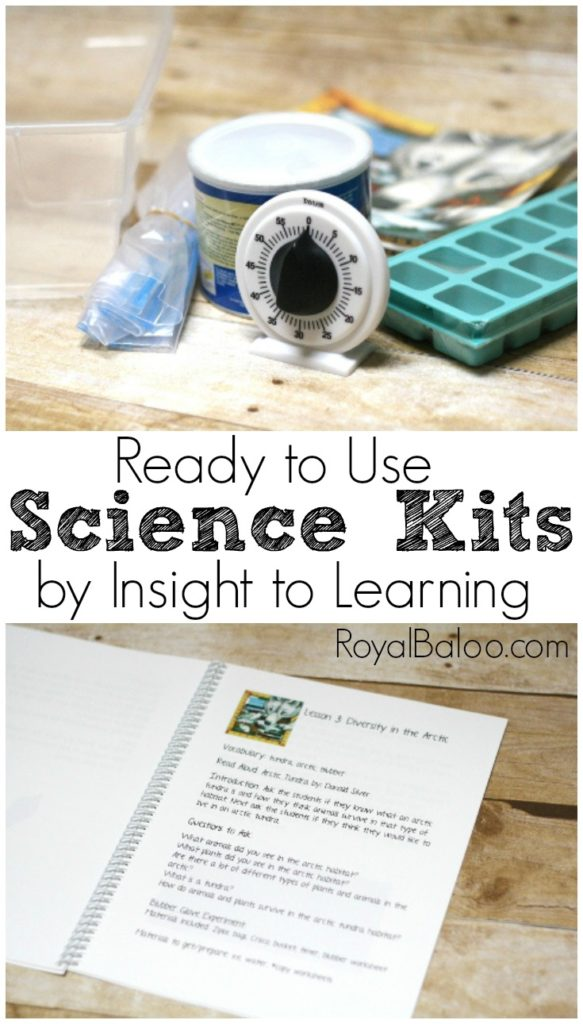 Ready to Use, Inexpensive, and Convenient Homeschool Science Kits from Insight to Learning. Perfect gifts for minimalists!