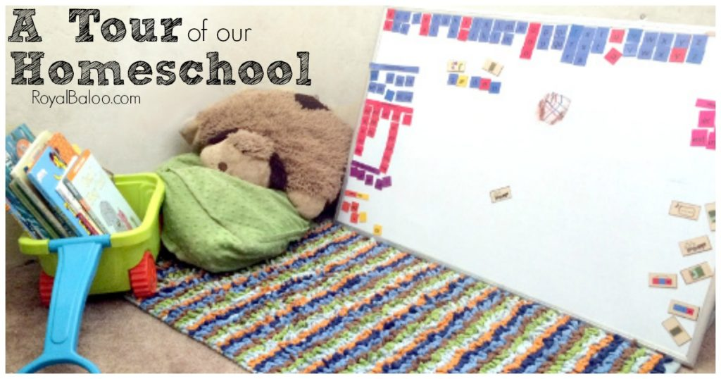 Come see how we make our small homeschool space work!  Tables, desks, bikes, reading corner...we do what works!