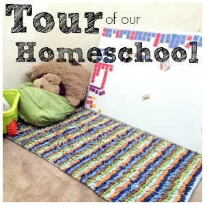 Our Homeschool Room – Take a Tour of a Small Space