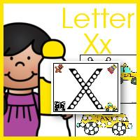 Do A Dot ABCs Letter Xx