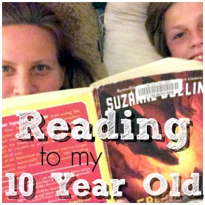 Why I Read Aloud to my 10 Year Old Every Night