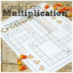 No Prep Candy Corn Multiplication Pack