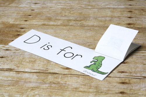 Work on letter sounds with this fun and simple Dinosaur Letter Sounds Booklet set. Letter sounds and fun.