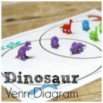 Dinosaur Venn Diagram for Learning Advanced Categorizing