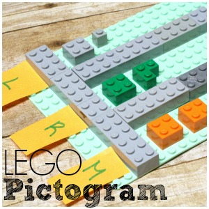 LEGO Pictograms – Beginning Graphs and Tables for Kids!