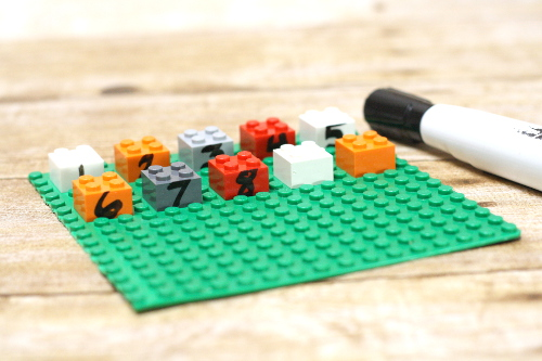 Learn counting on skills with LEGO Counting On! Counting on is an important skill for math!