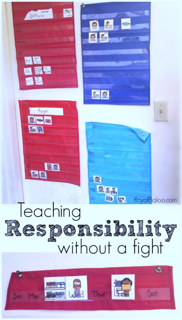 Teaching responsibility without a fight. Kids need to learn to be responsible but figuring that out doesn't come easy.