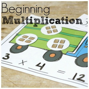 Transportation Multiplication for Beginning Math