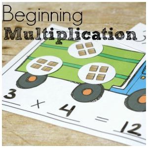 Transportation Multiplication for Beginning Math