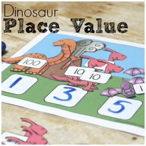 Dinosaur Place Value and Other Math Fun