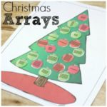 Christmas Tree Arrays for Multiplication Fun