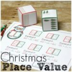 Hands On Christmas Place Value Practice