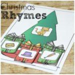 Free Christmas Rhyming Set for Beginning Readers