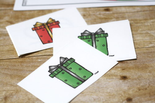 Help Santa deliver his presents and practice subtraction at the same time!  Christmas subtraction game for fun subtraction practice!