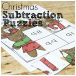 Christmas Subtraction Puzzle for Fun Subtraction Practice