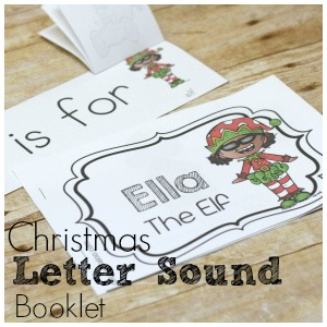 Ella the Elf: Christmas Letter Sound Booklet and Story