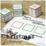 Roll a Silly Christmas Sentence