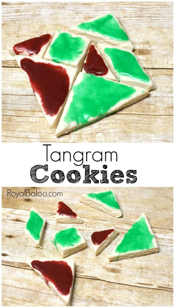STEAM Activity with Cookies! Make Christmas tangram cookies for some STEAM fun. Cooking, decorating, puzzles, and more!