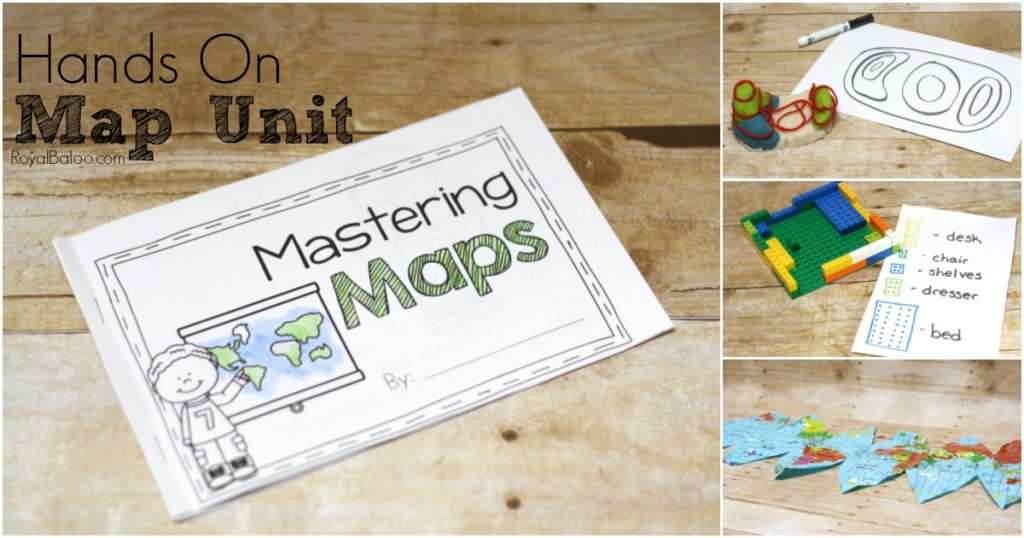 What better way to learn to read a map then with a super fun hands on map unit! This free unit will teach kids how to read maps and more!