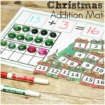 Christmas Addition Mats (and Subtraction too!)