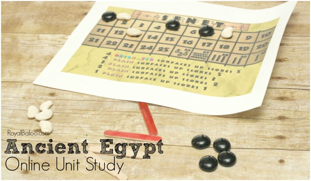Make history more fun with online unit studies.  This Ancient Egypt Online Unit Study is sure to engage and impress even the toughest kids.