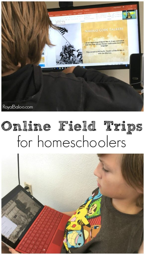 Field trips are fun and online field trips are better!  Education from the comfort of your home with experts!  All you need is internet and a computer.