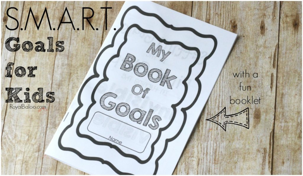 Learning to set goals and achieve them doesn't have to be hard!  Kids can make goals too and it shouldn't take a lot of extra effort from you.